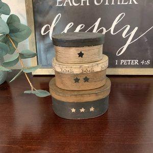 3 piece nesting box
